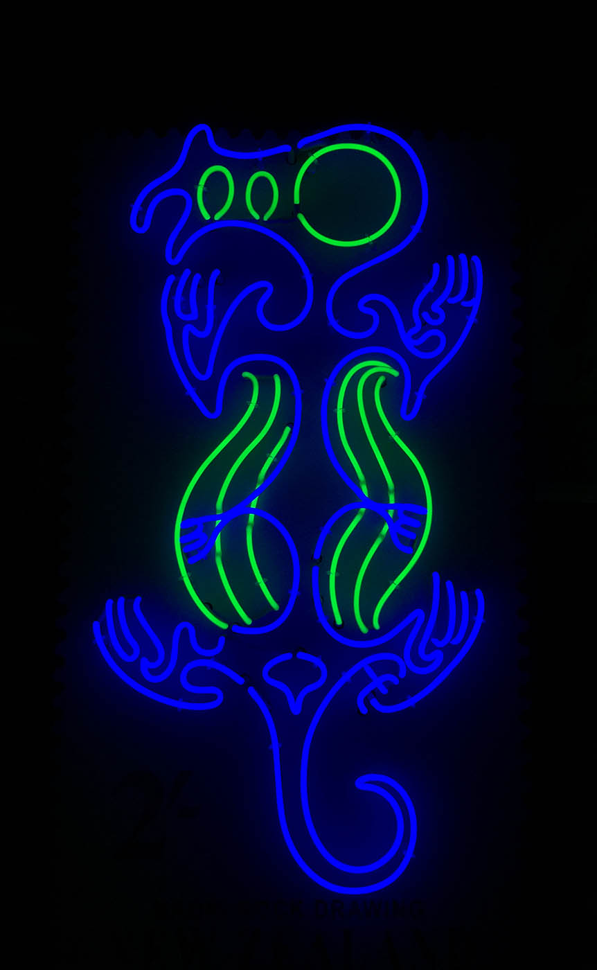 Maorirockdrawing 2 2 pro sign services auckland sign for Room decor neon signs