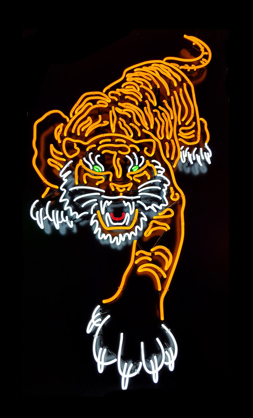 Neon Tiger Pro Sign Services Auckland Sign